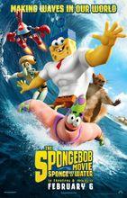 Plakat filmu Spongebob: na suchym lądzie
