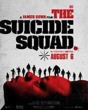 Movie poster Legion samobójców. The Suicide Squad
