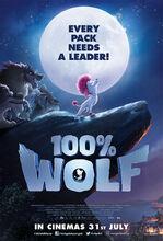 Plakat filmu Wilk na 100%