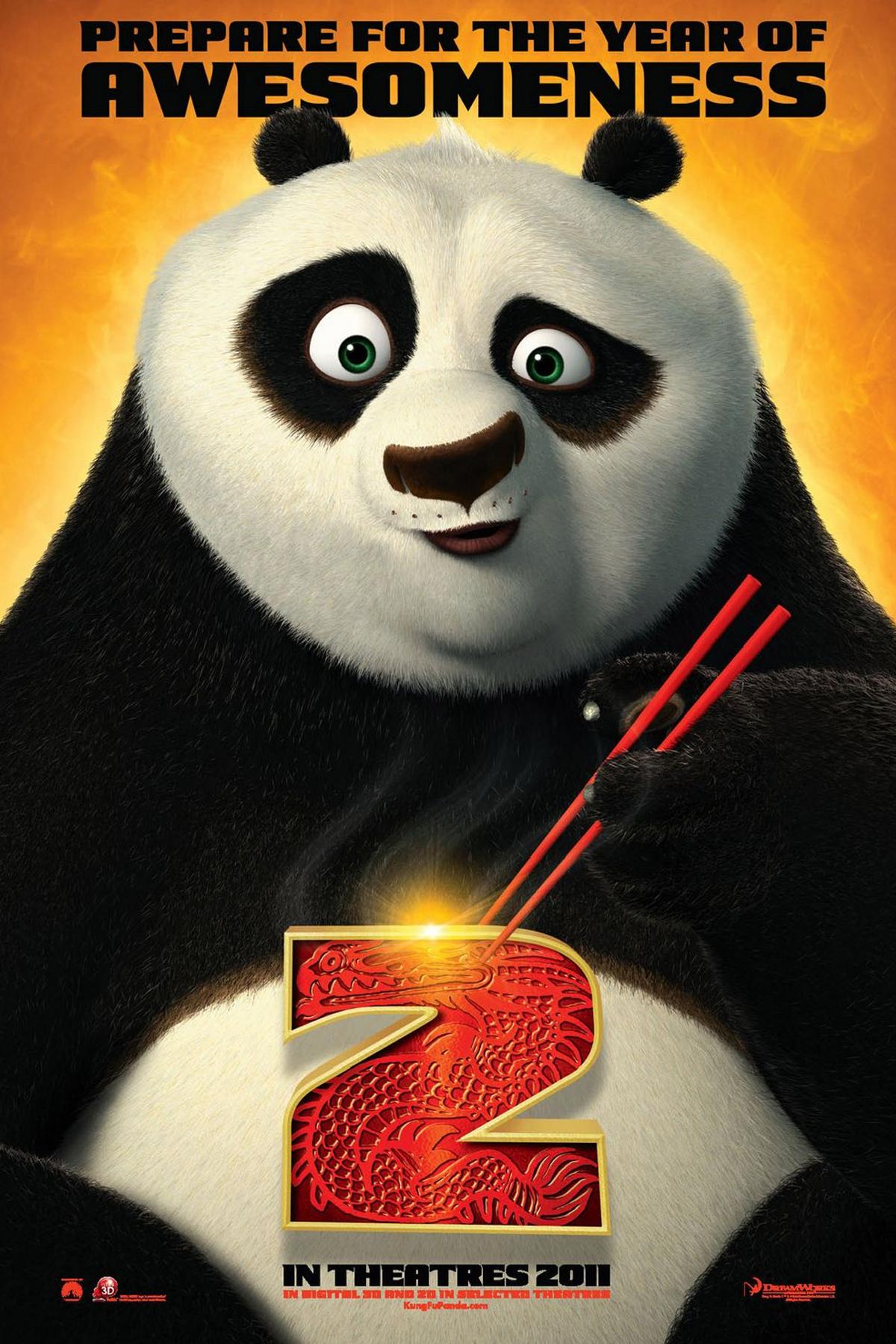 Kung Fu Panda 2 Kinakrakowpl
